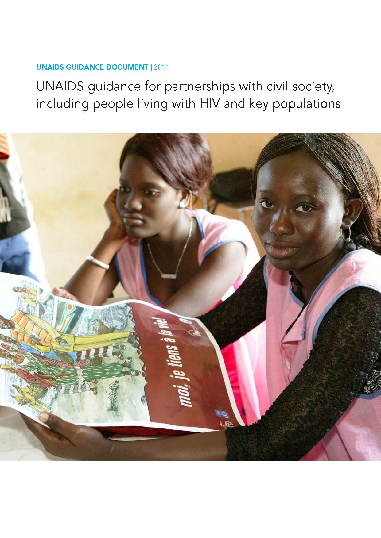 UNAIDS guidance for partnerships with civil society, including people living with HIV and key populations